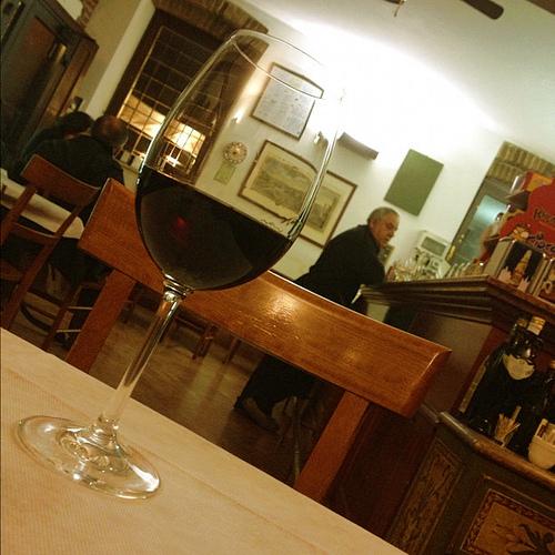 ヴェローナに行ったら必ずすること。それはAmaroneを気分よく飲むこと!!!
