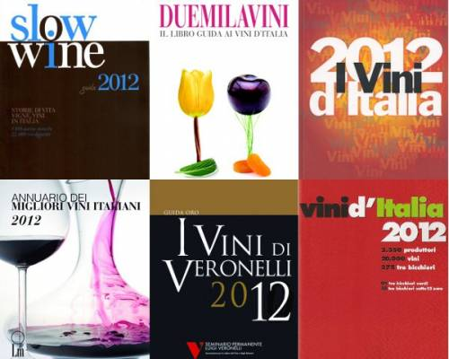 ワインガイドの数は世界一!! さすがイタリア、ワインにはうるさい国です。