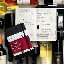 ワイン情報を書き込める優れもの「ワインジャーナル」。2013年からスタートしようかな。