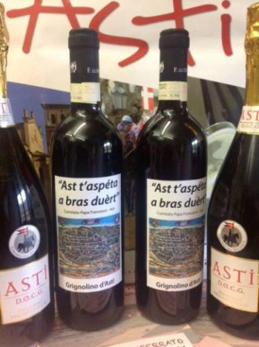 新ローマ法王フランチェスコ用のワインも準備万端。