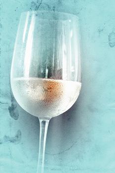 暑い!! 冷えた白ワインで1日の疲れを忘れるひととき♥♥