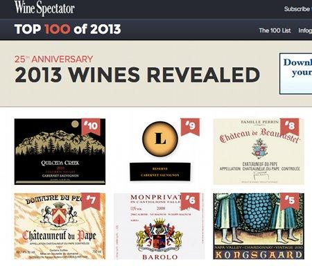 イタリアワイン登場。6位はBarolo Monprivato 2008です!