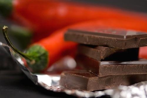 チョコとも相性がよいそうですが・・・普通のチョコではないのです。