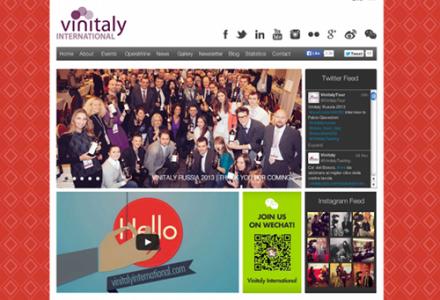 Vinitaly Internationalが誕生しました。ワインに関する画像満載のサイトになりそうです。