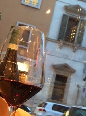 久しぶりにヴェローナでのアマローネ。やっぱり美味しい♥