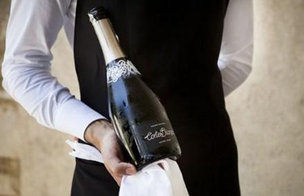 ロゼの次はExtra Brut。とっても美味しいおうちワインです。