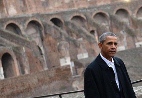 オバマ大統領のローマ訪問。ここでもイタリアワインが大活躍。