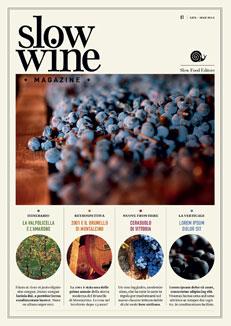 ワインの情報満載のSlow Wine Magazineが誕生。掲載画像もとってもきれい♥