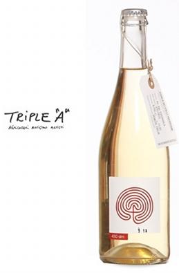 さすが自然派ワインのトリプルA。ナチュラル感がいっぱいです。
