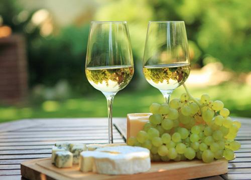 白ワインとチーズでフレッシュ感たっぷりのマリアージュ♥
