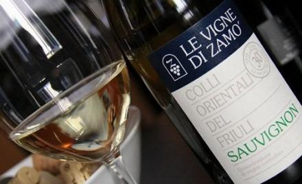 気温が上昇した日曜のアペリティーヴォはやっぱりフリウリの白ワイン♥