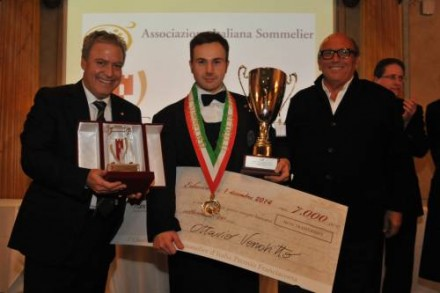 イタリア最優秀ソムリエ決定。偶然にもこの夏に出会っていた???