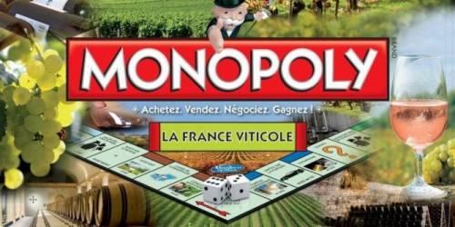 ワインのモノポリー。ゲームでワイナリー所有者気分になれるかも。