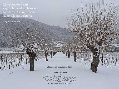 新年の幕開けはFranciacorta!! 今年もイタリアワインを楽しみましょう。